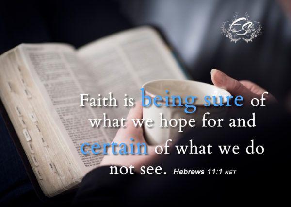 faith in His word devotional