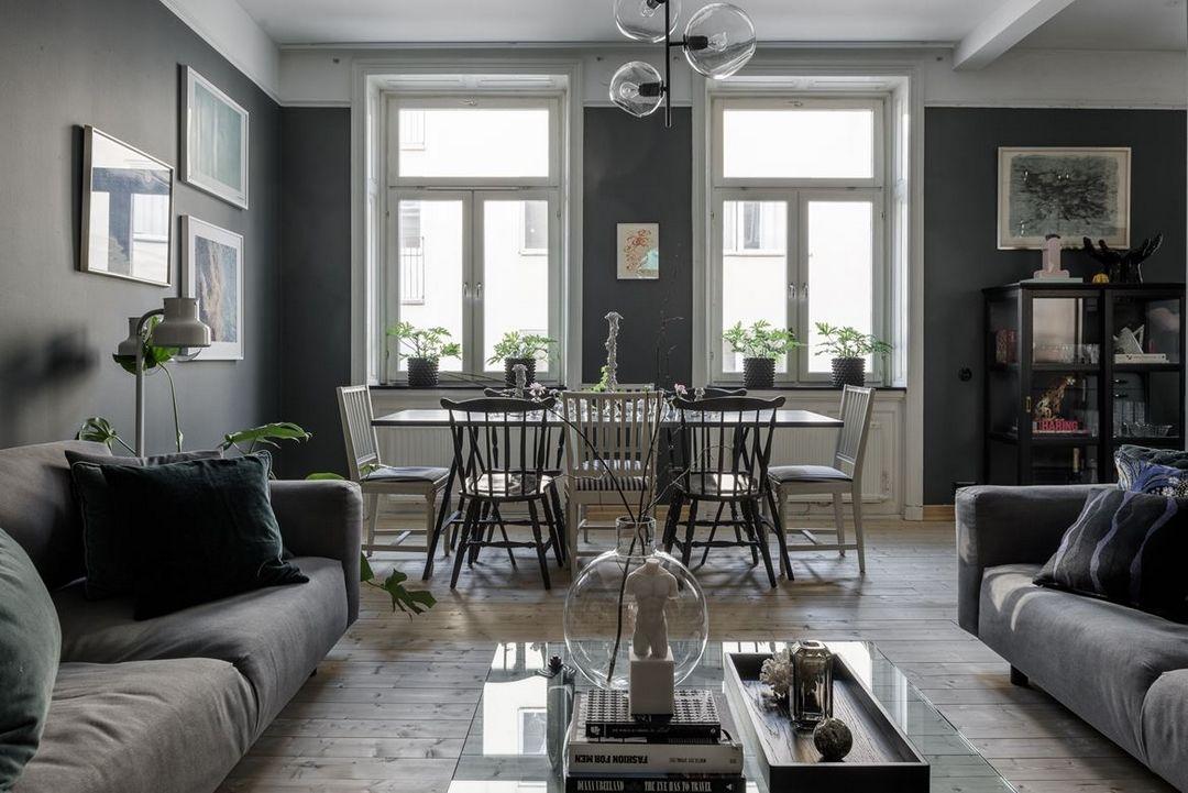 des murs fonc s d couvrir l 39 endroit du d cor creative decor dark interiors et gravity home. Black Bedroom Furniture Sets. Home Design Ideas