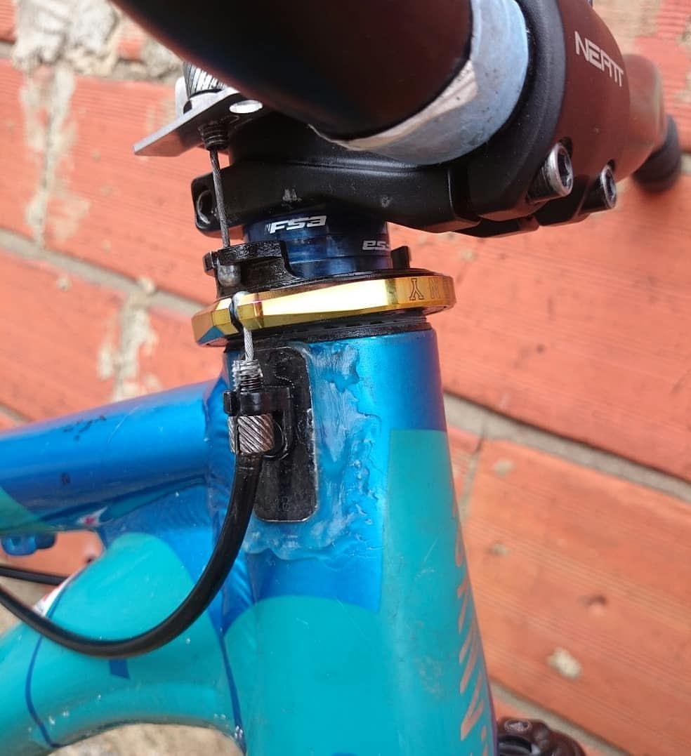 Gyro Setup With Epoxy Glued Lower Tabs Gyro Epoxy Glue Epoxy