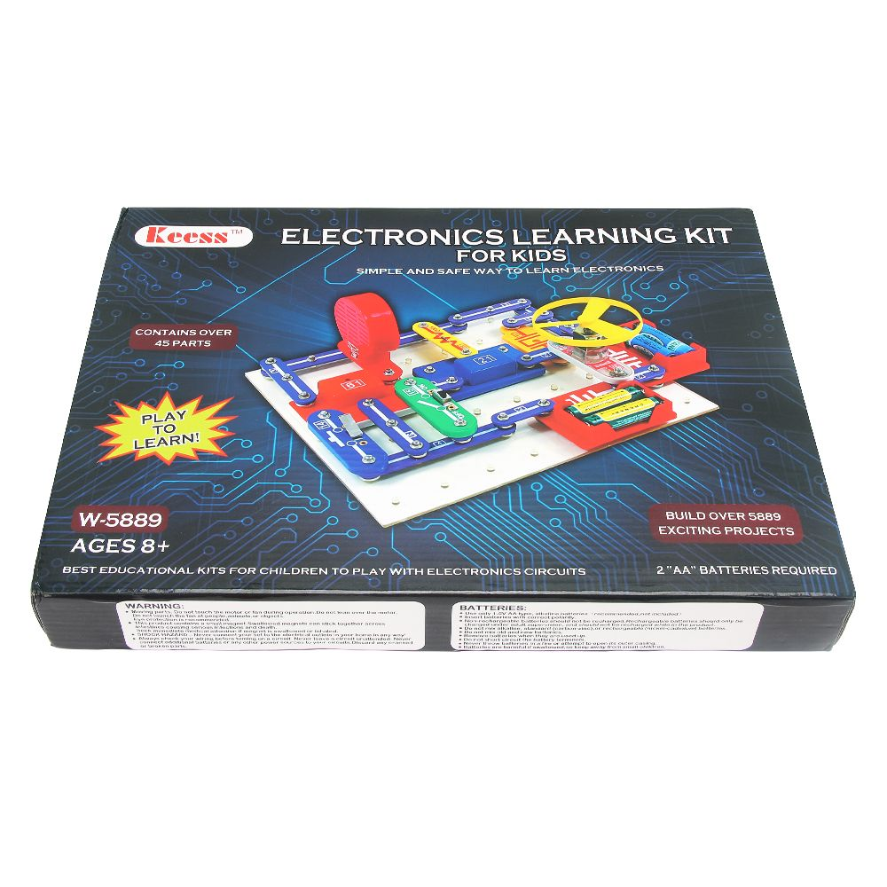 This Snap Circuit Kit Provides Kids With The Tools And Instructions Electronic Toy