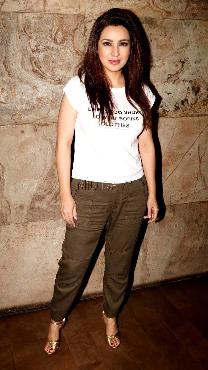 Tisca Chopra At The Special Screening Of Short Film Chutney Jfashion Etchnic Long Tunik Fashion Elegan Shareen Bollywood Style Beauty Hot Sexy