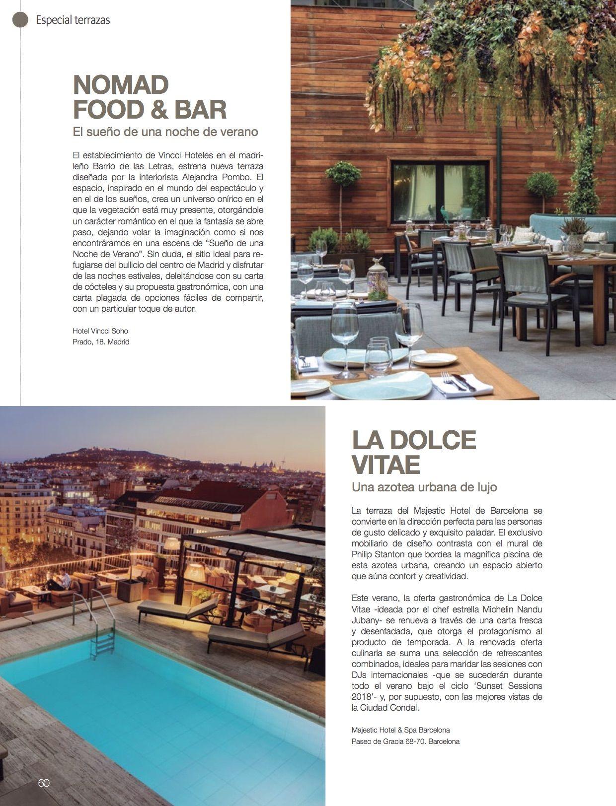 Restaurante Nomad Vincci Press Room Restaurantes únicos