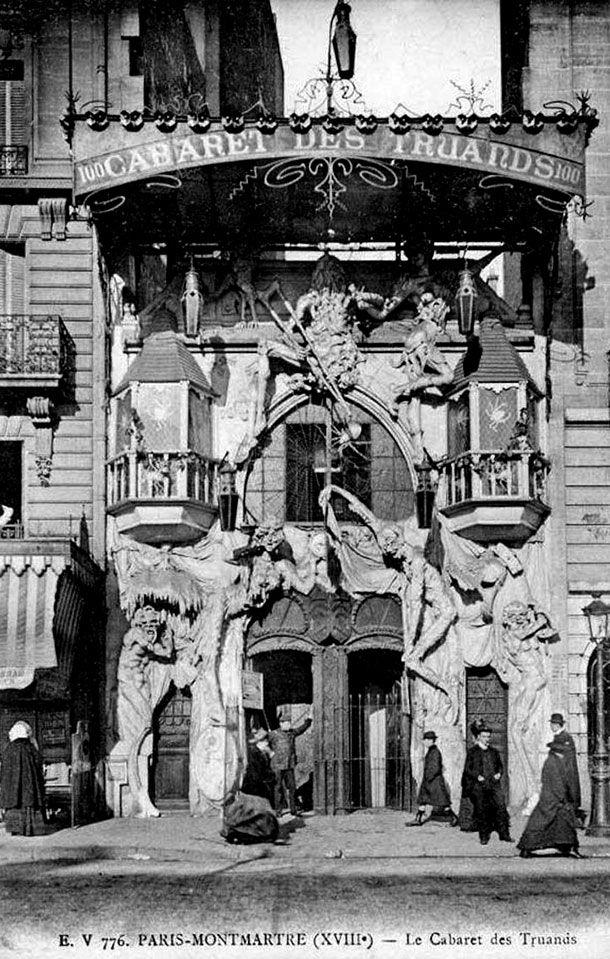 Los nightclubs m s macabros y siniestros del paris de 1920 for Histoire macabre