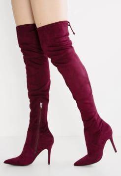 13b61541f71 ALDO - ASTEILLE - Over-the-knee boots - bordo