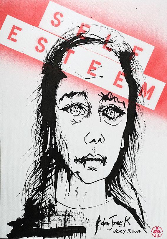 How They Suffer: Self-Exteem by Adam James K www.adamjamesk.com