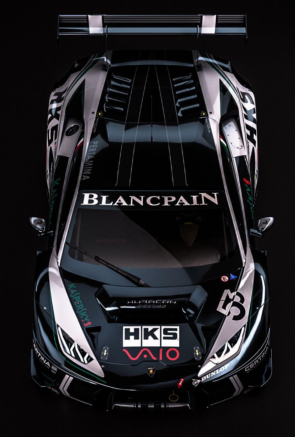 ArtStation   Lamborghini Huracan GT3 Fantasy Kaspersky Livery, Zoki Nanco    Nancorocks