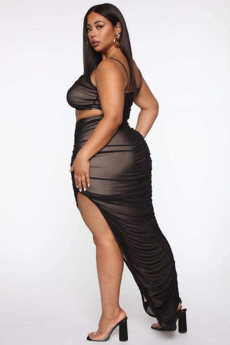 New York Nights Mesh Skirt Set Black Combo In 2020 Mesh Skirt Skirt Set New York Night
