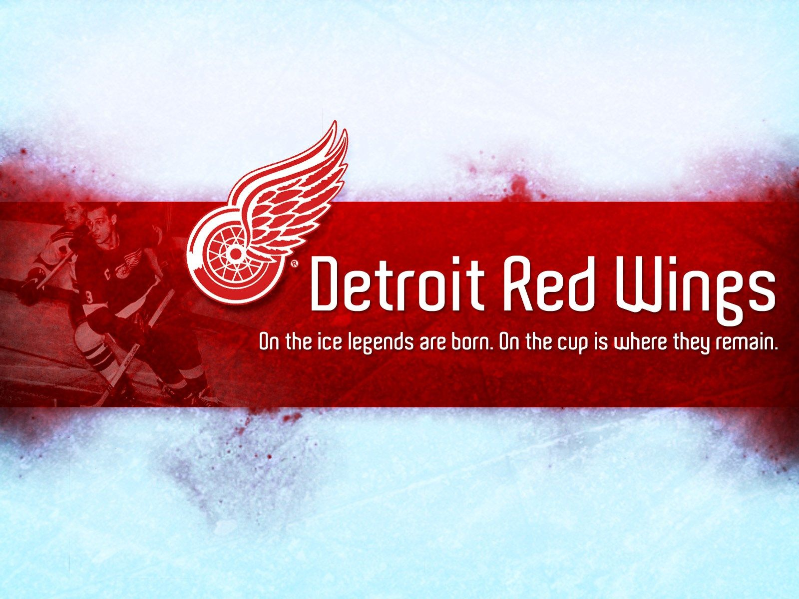 Detroit Red Wings Desktop Wallpapers Hockey Logos Wallpaper Nhl