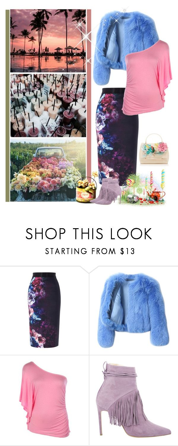 """""""Surrond yourself with love. Create happiness"""" by fashionqueen76 ❤ liked on Polyvore featuring Coast, G.V.G.V., G2 Chic and Delpozo"""