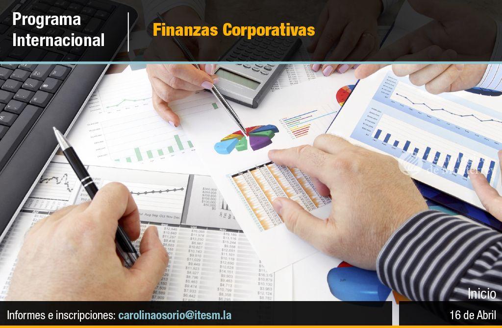 Programa Internacional Finanzas Corporativas. Inicio 16