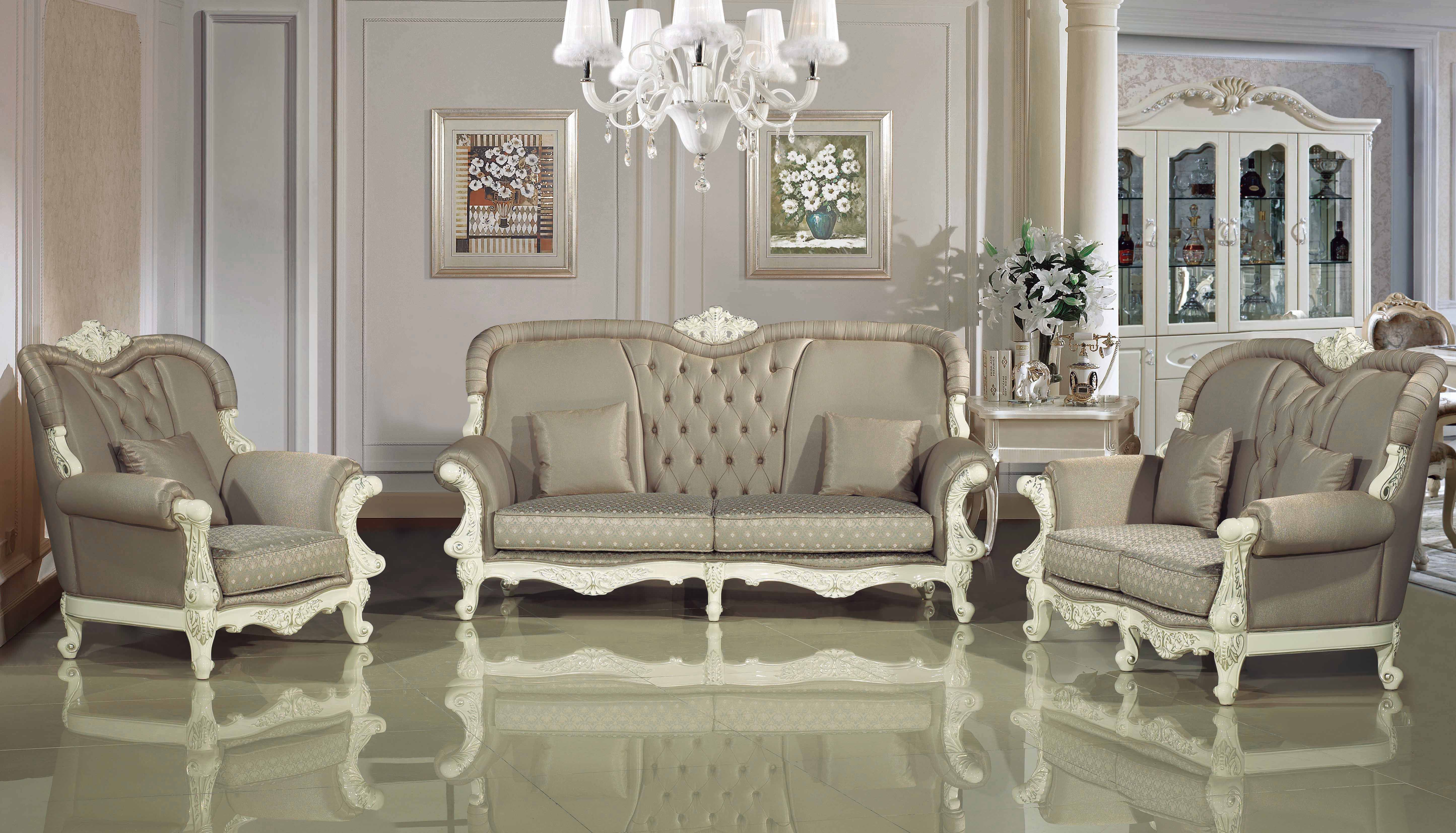 Explore White Sofa Design Living Room Wallpaper