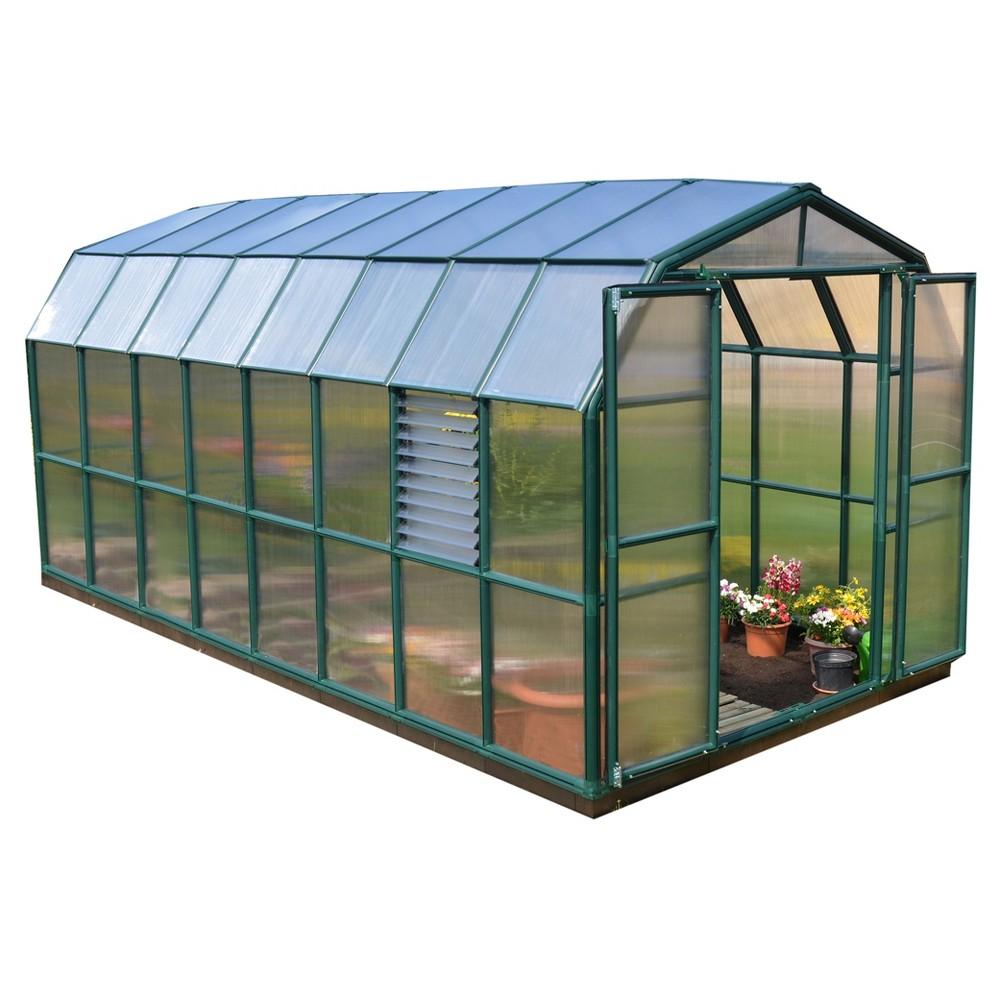 8 X16 Prestige 2 Twin Wall Greenhouse Green Palram Greenhouse Polycarbonate Greenhouse Backyard Greenhouse