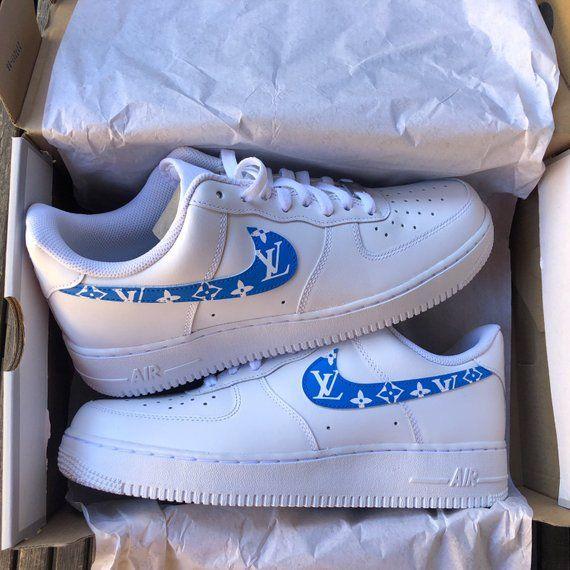 nike air force 1 donna blu