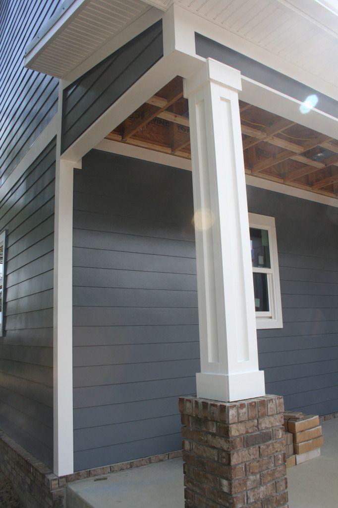 siding and trim details, column detail | Exterior PVC Trim Ideas ...