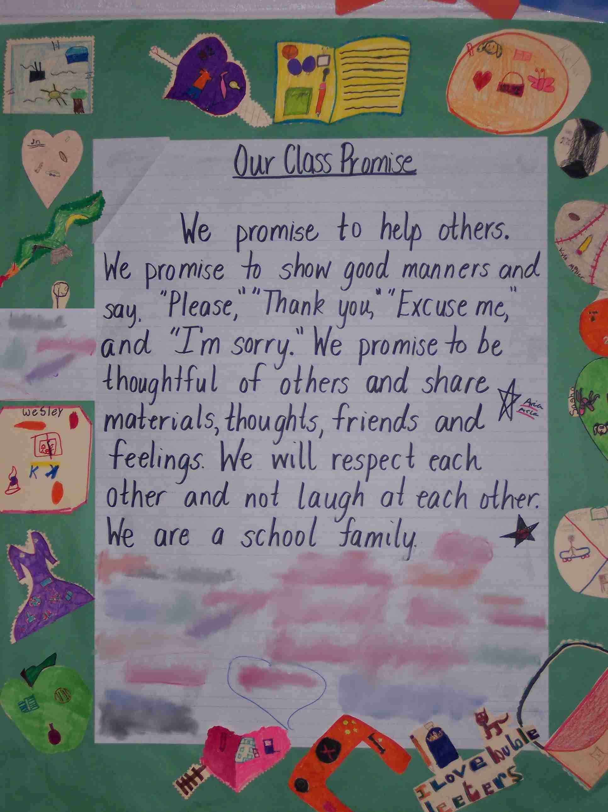 Class promise example
