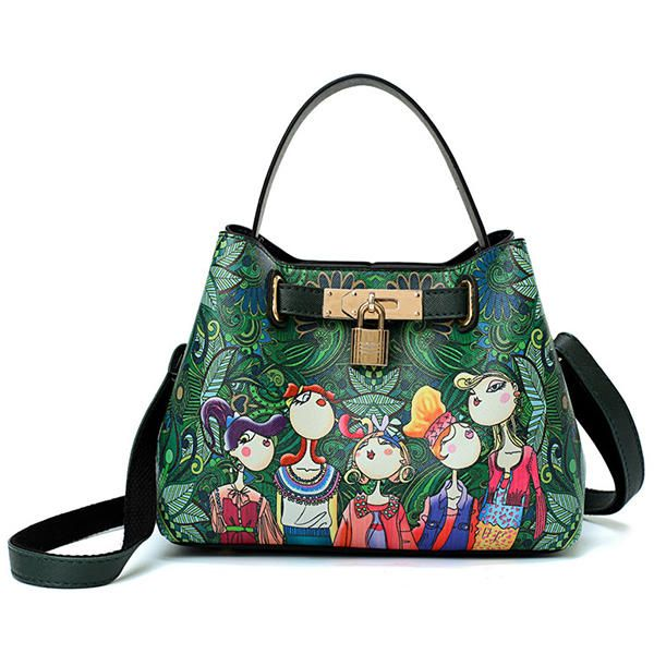 b8e8565e1470 Only US 35.99 shop women leisure spring forest printing handbags crossbody  bags at Banggood.com. Buy fashion crossbody bags online. - Banggood Mobile
