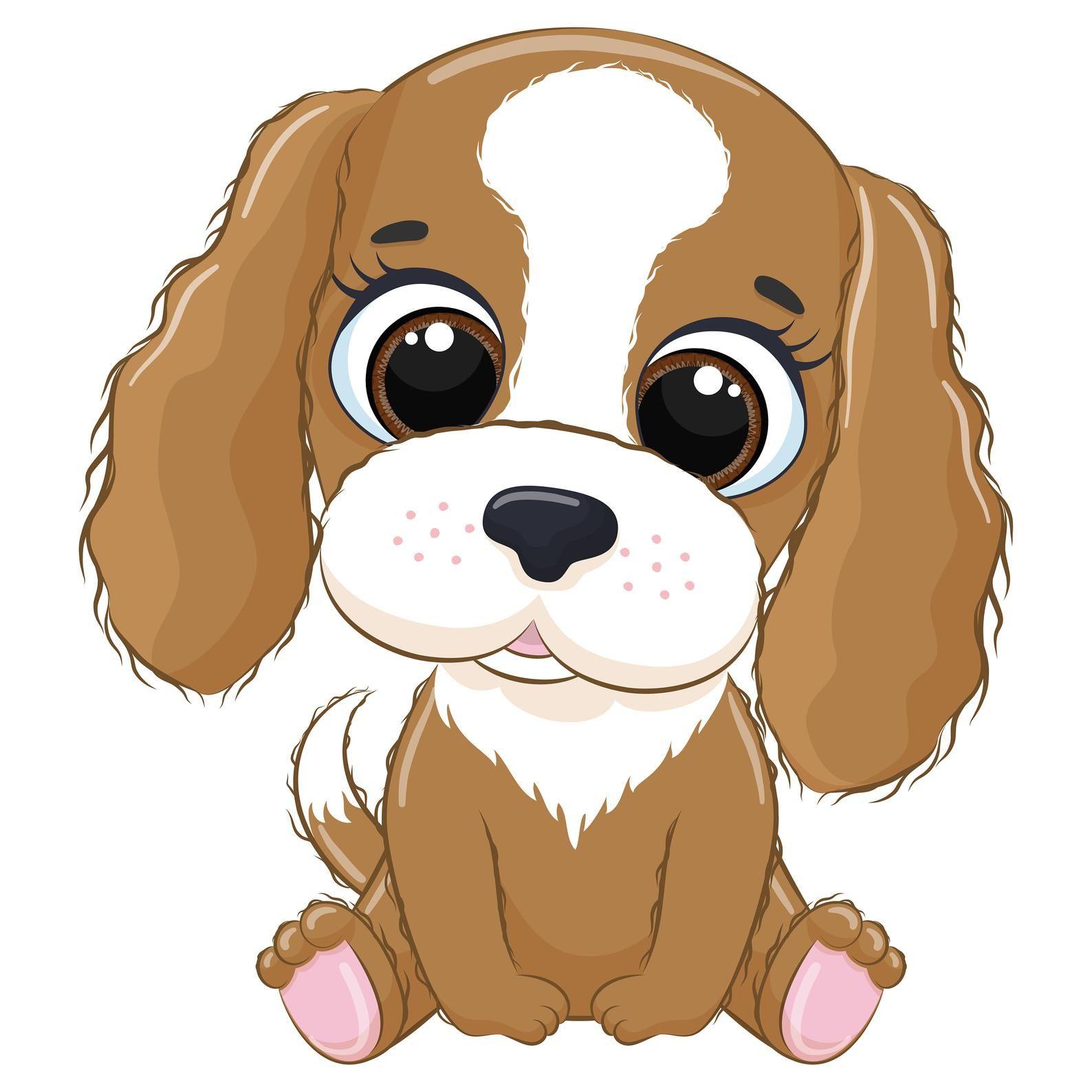 Cute Dog Clipart Eps Png Jpeg Pets Clipart Cute Animal Clipart Doggy Clipart In 2021 Cute Animal Clipart Animal Clipart Cute Animals