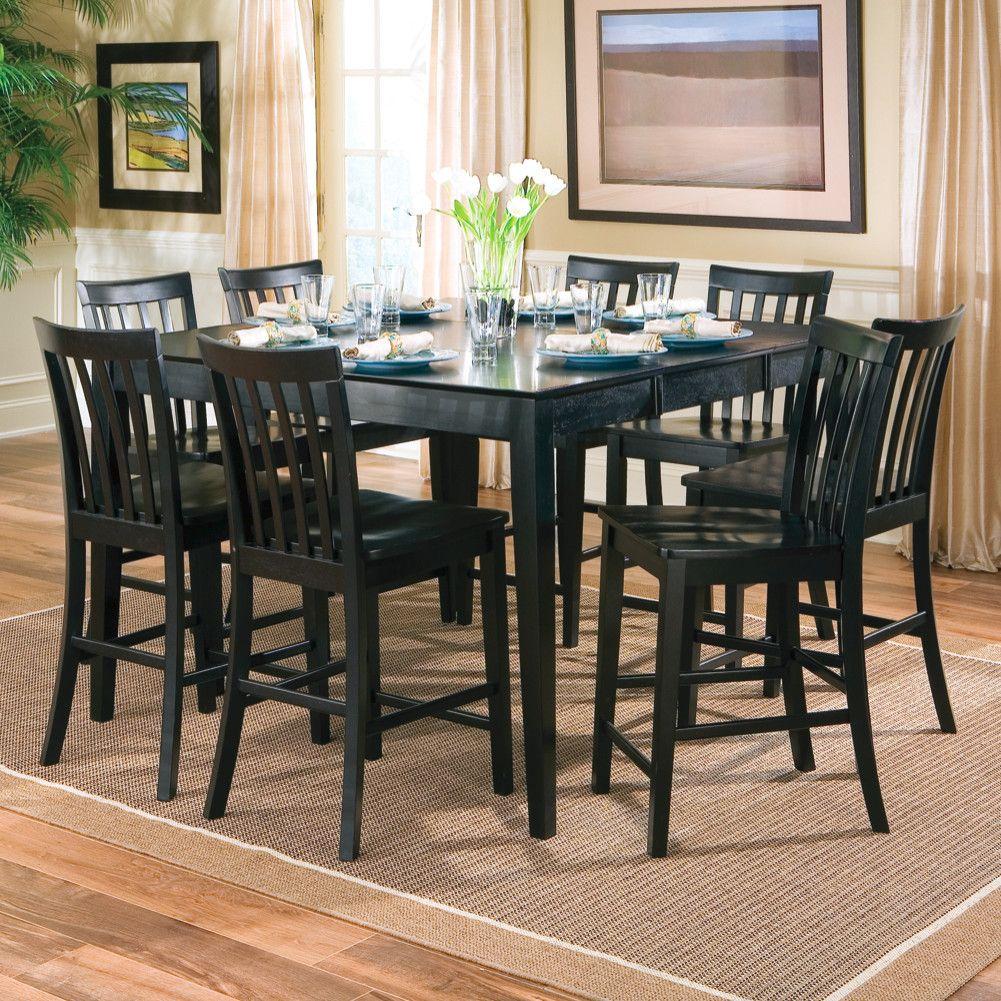 Black Square Dining Room Table fujiseus