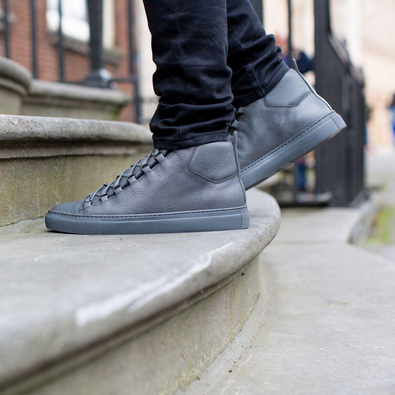 BALENCIAGA | NEW ARRIVALS | DERODELOPER.COM The Balenciaga arena high top  sneakers for the