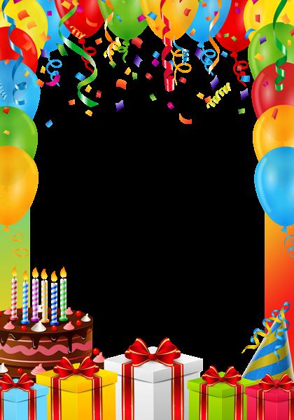 Birthday Frame Png Transparent Image Fotos De Feliz Aniversario