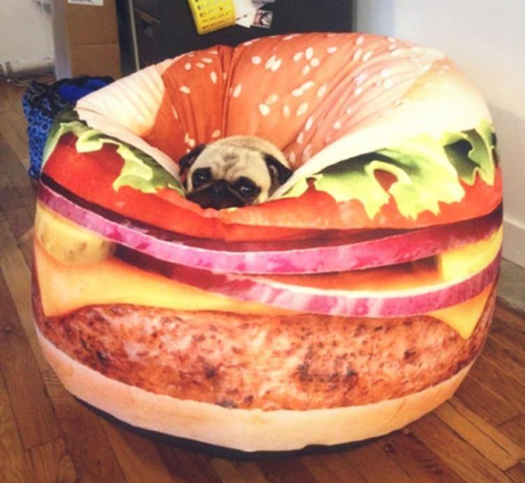 Cheeseburger Bean Bag Chair