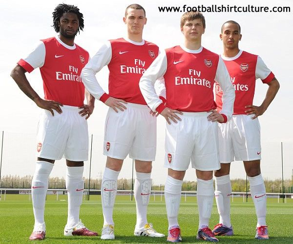 timeless design 5a0bd fdb58 Arsenal 10/11 Nike Home Kit | 10/11 Kits | Football Shirt ...