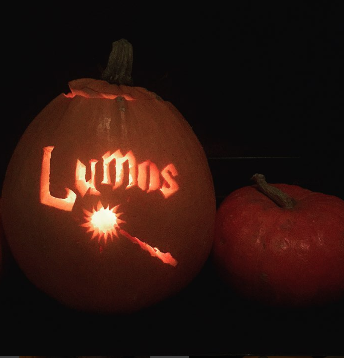 Harry Potter Pumpkin from goodlassy on Instagram and other