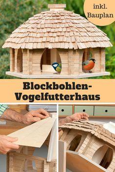 Dieses Blockbohlen Futterhaus Ist Eine Handwerkliche Meisterleistung, über  Die Sich Nicht Nur Die Vögel