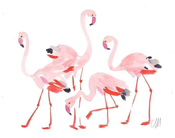 Let Me See Your Pink Flamingo | Jessica Claire Interiors