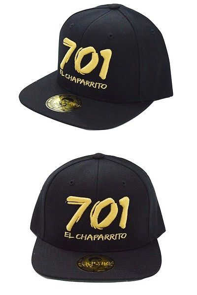 Other Mens Accessories 1060  El Chaparrito 701 Mens El Chapo Snap Back Easy  Fit Cap Hat Unisex In Black Gold -  BUY IT NOW ONLY   32.82 on eBay! 71cad60f8090
