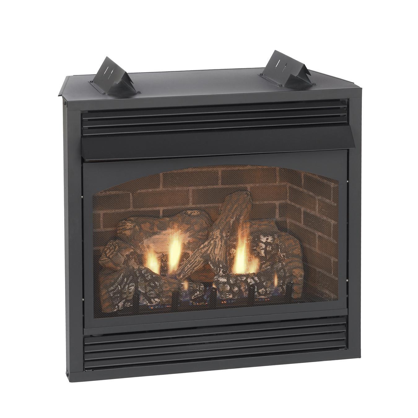 Empire Vail Premium Vent Free Natural Gas Fireplace With Blower 32 Propane Fireplace Gas Fireplace Natural Gas Fireplace