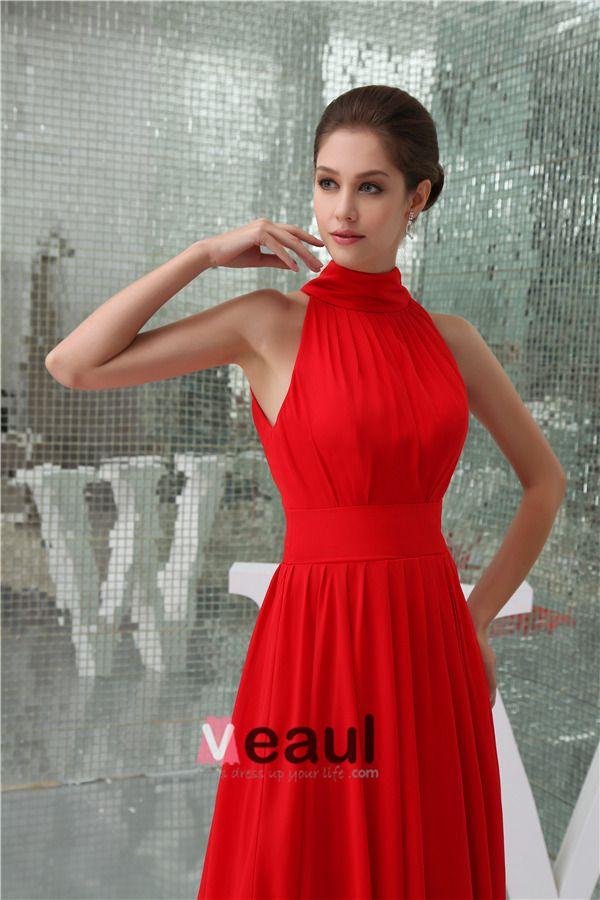 6be51d323 vestidos de gala cuello alto - Buscar con Google