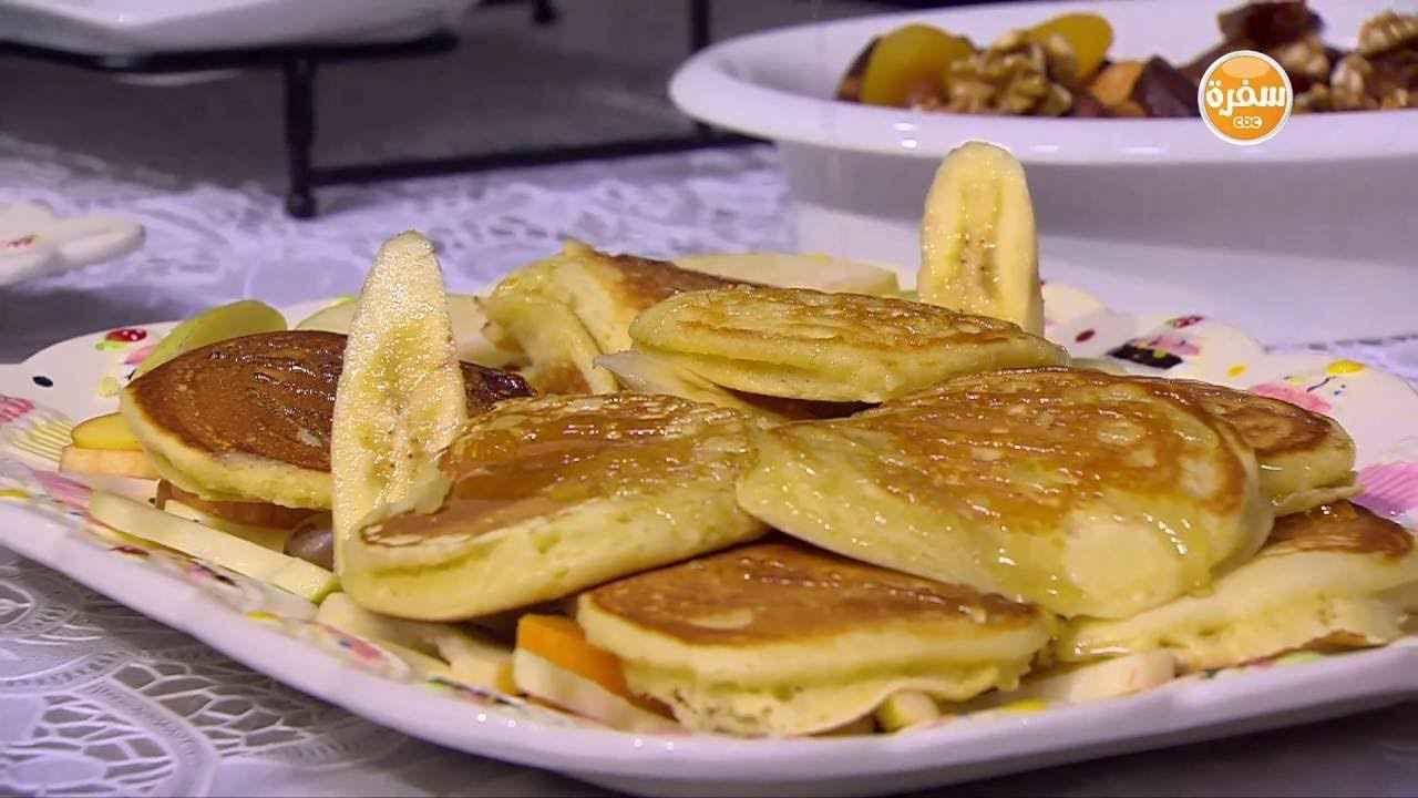 طريقة عمل عجينة البان كيك الأصلية سالي فؤاد Food Breakfast Pancakes