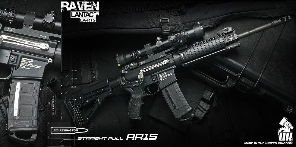 LanTac Raven AR15 Rifle side charger