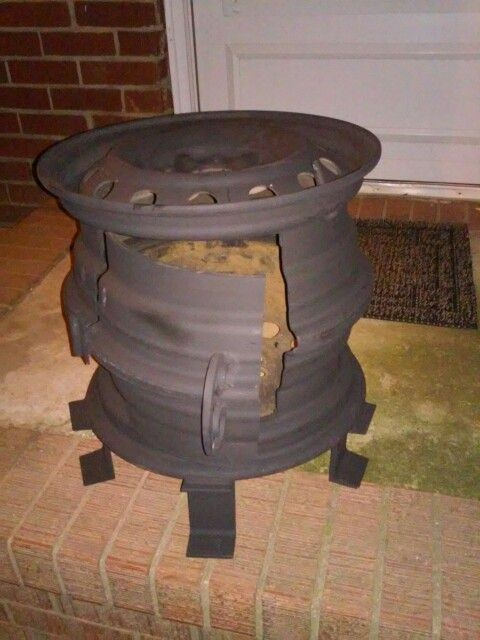 Tire Rim Firepit In 2019 Rim Fire Pit Fire Pit Pizza