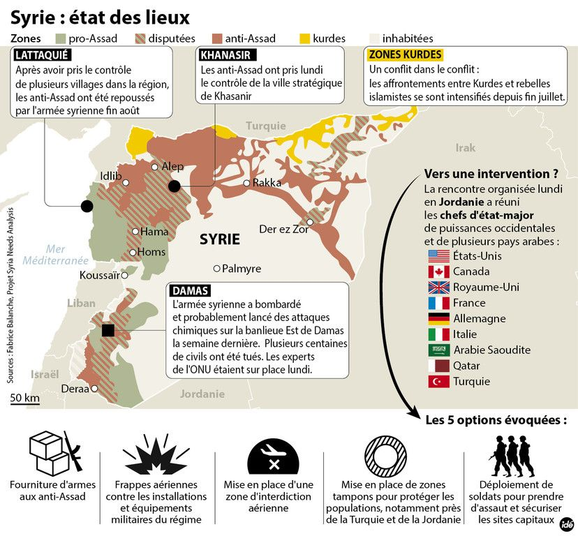 Vers une intervention en Syrie My TF1 News Syrie