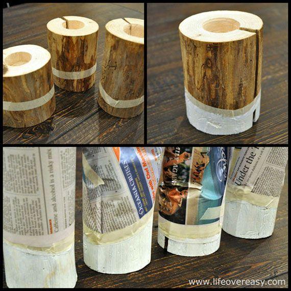 Adventskalender – #12 Kerzenhalter von Lifeovereasy | Kerzenhalter ...