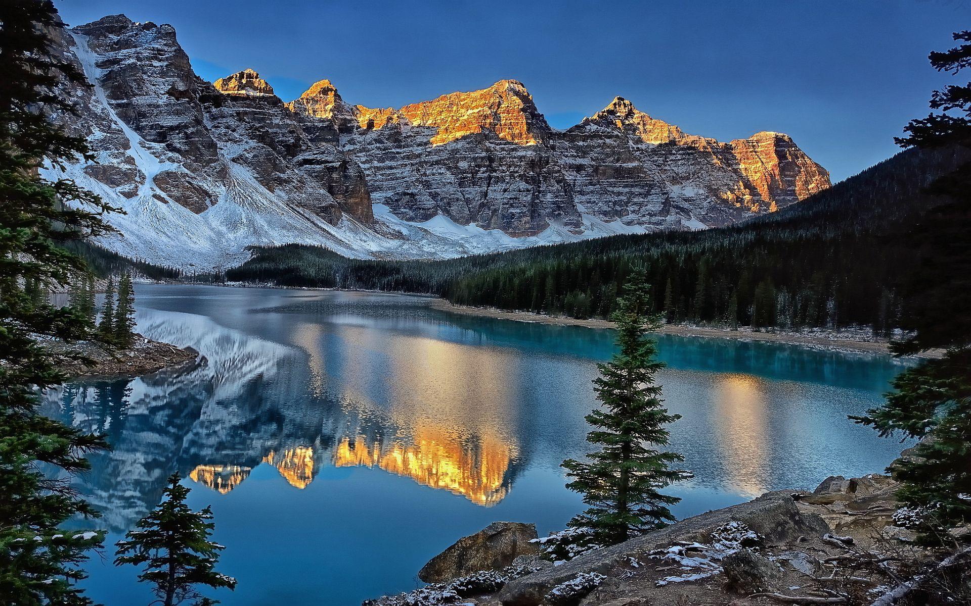 lake in winter google search