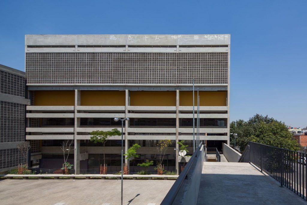Escola Estadual Jardim Romano High Building Education Architecture Architecture