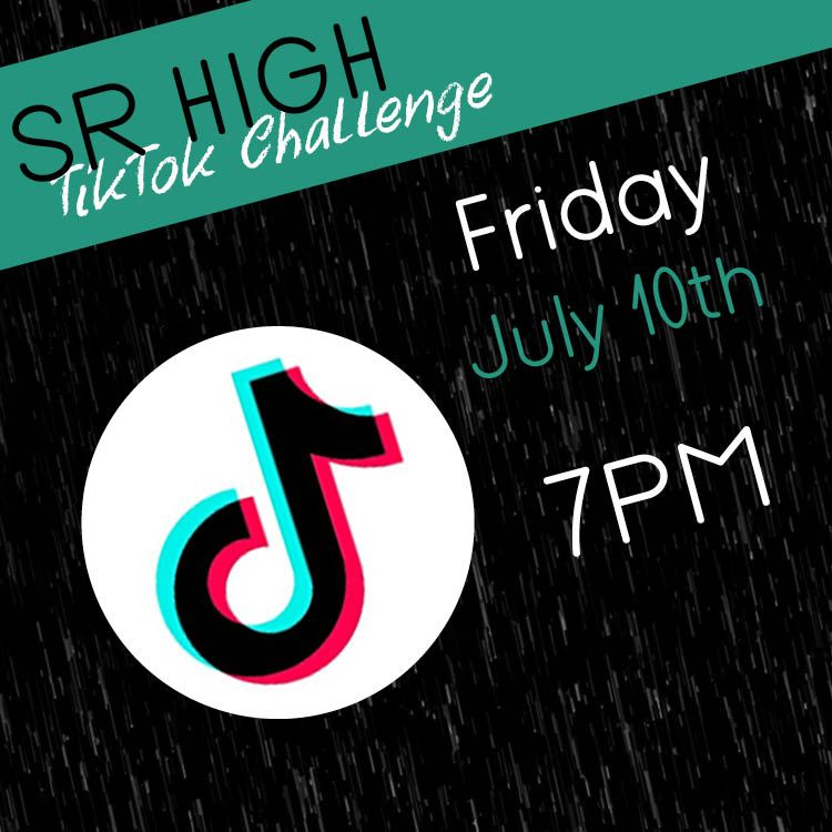 Sr High A Tiktok Challenge Is About To Be Thrown Down Log In Tonight To Get All The Details Tonight Sign Up At Cof Retail Logos Challenges Lululemon Logo