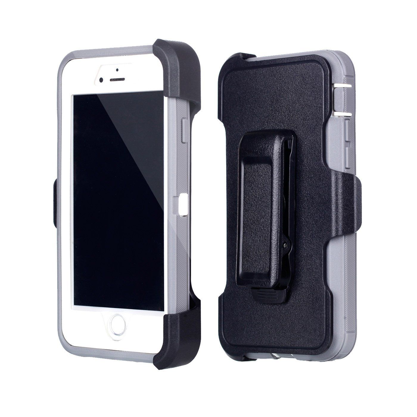 For iphone 8 7 chanroy hybrid rubber plastic impact