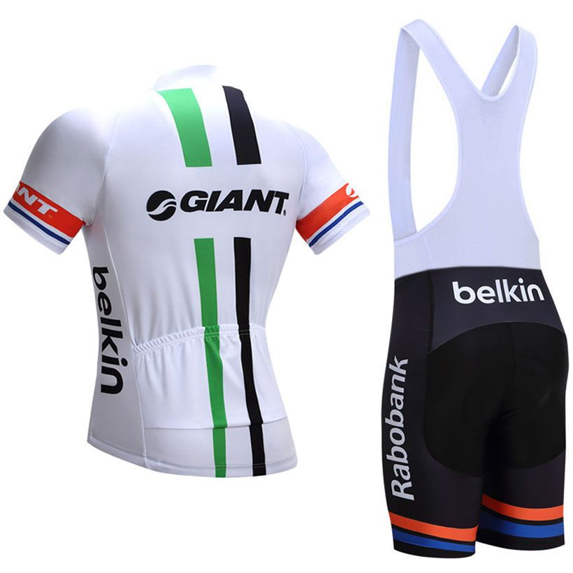 2017 Team Giant Pro Cycling Jerseys White Green Freestylecycling Com Pro Cycling Pro Cycling Jerseys Cycling Jerseys