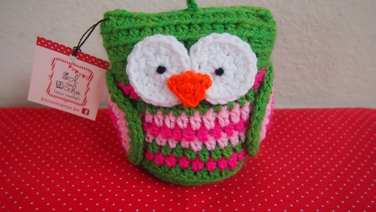 Sol de Noche {deco crochet}: Hoo Hoo: Amigurumi owl