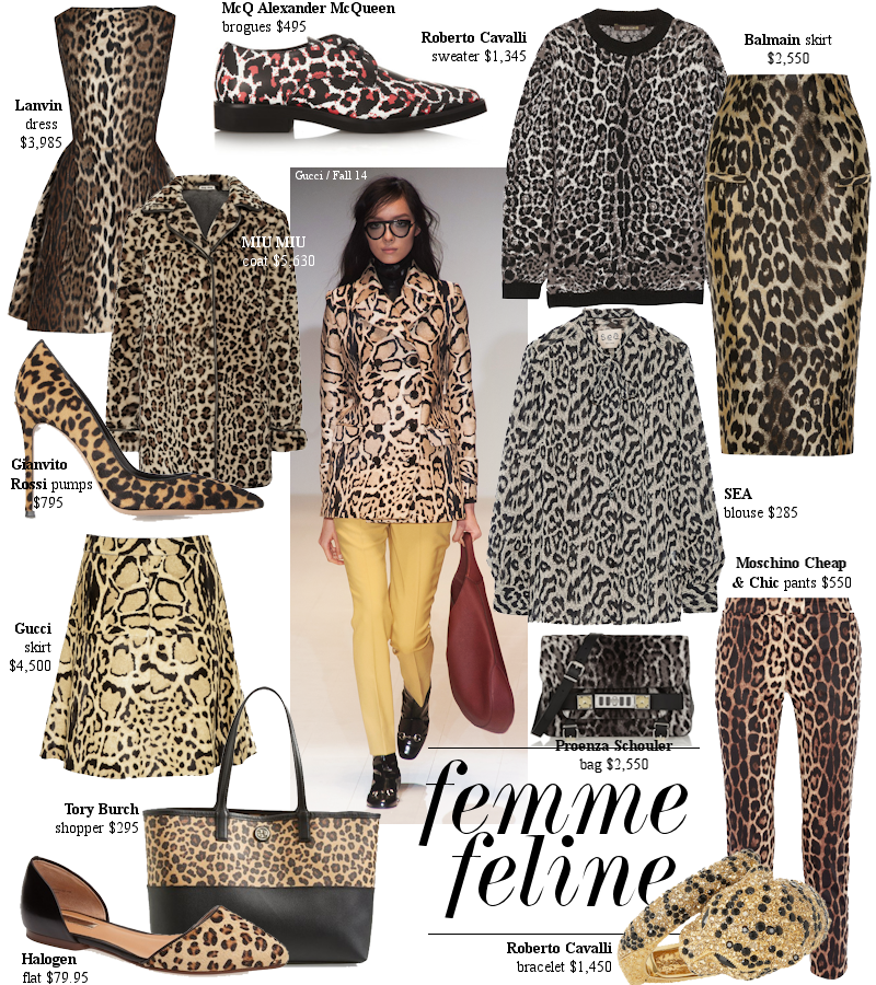 Fall Prints Are Once Again On The Prowl With Fierce Leopard