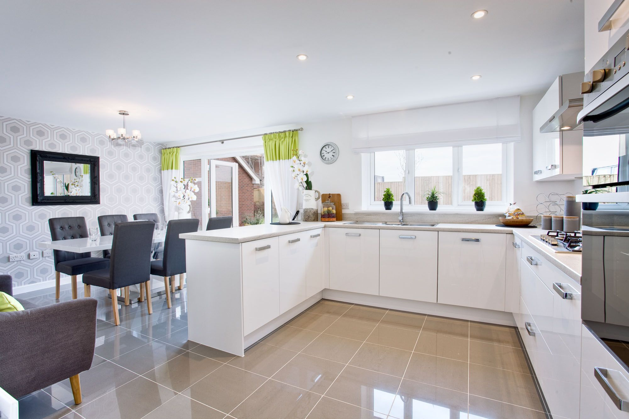 The Kitchen In The Arundel At St Maryu0027s Gate In Stafford   Bovis Homes Part 92