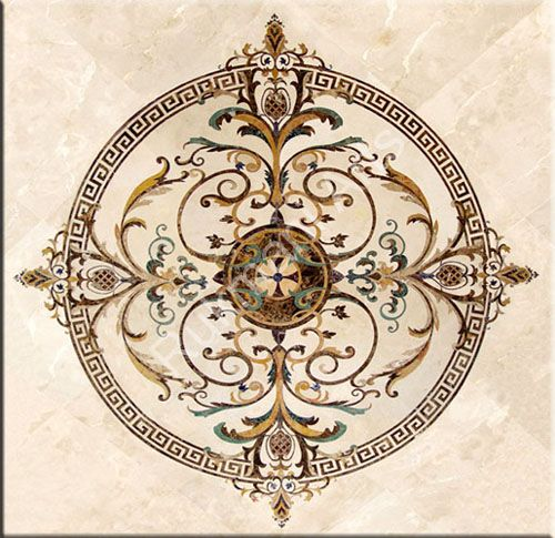 Marble Inlay Flooring Designs : Marble inlay flooring designs table tops