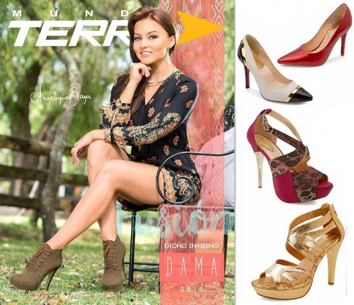 e17831eb Catalogo Calzado Mundo Terra Otoño Invierno 2015. zapatos elegantes y  casuales para dama ...