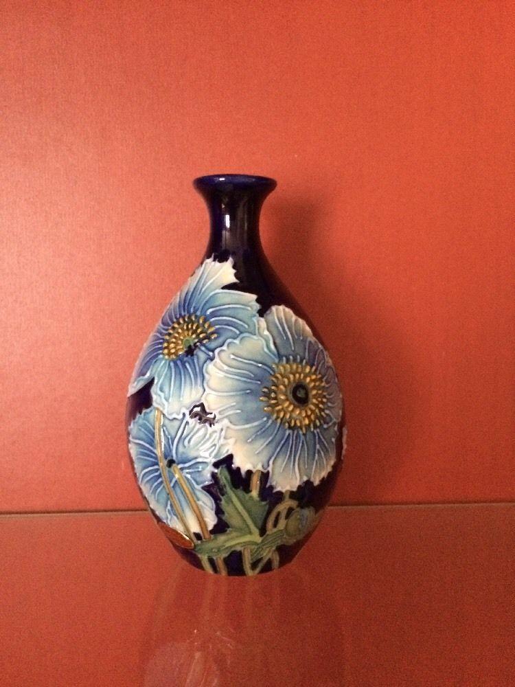 Rare Old Tupton Ware Small Cornflower Vase 11cm Old Tupton Ware