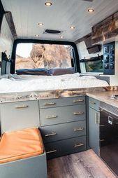 Photo of 50+ Amazing Camper Van Interior Ideas #thegreatoutdoors When you have a camper v…