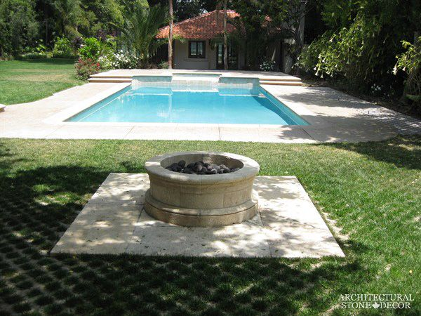 #antique #limestone #outdoor #firepits #fire #pits #design ...